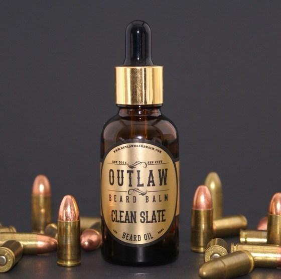 Outlaw Beard Balm Clean Slate Oil