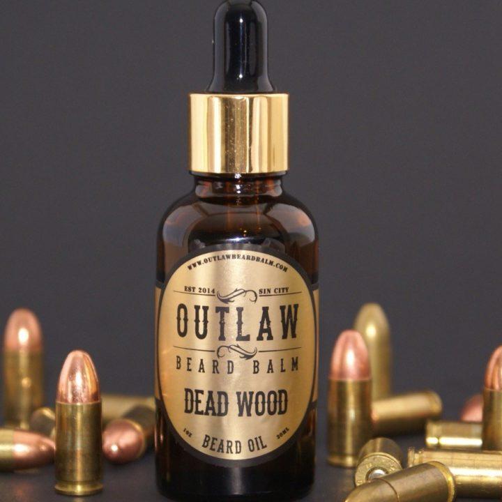 Outlaw Beard Balm Dead Wood Oil