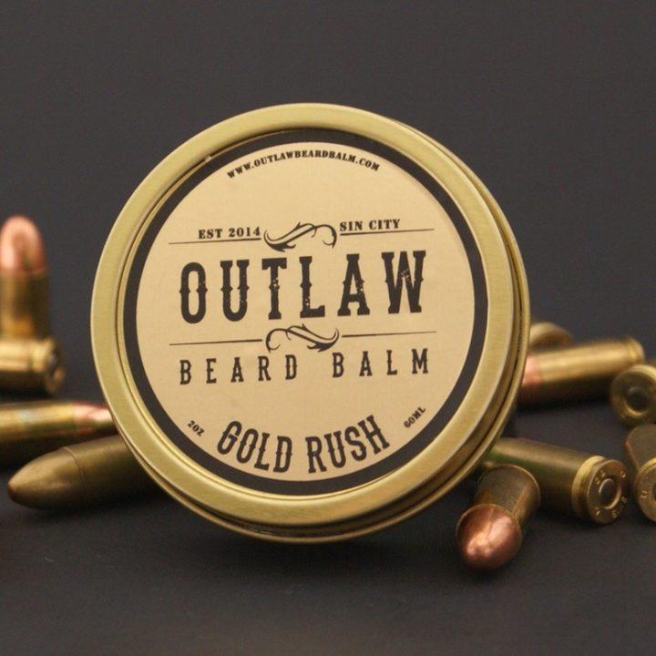Outlaw Beard Balm Gold Rush Balm