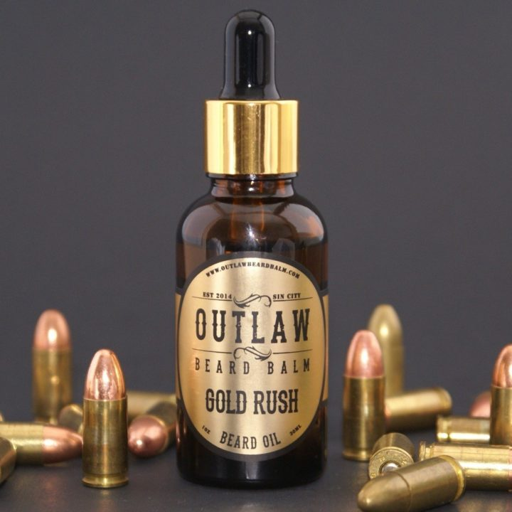 Outlaw Beard Balm Gold Rush Oil