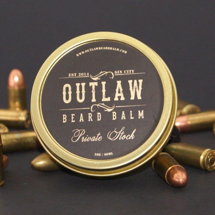 Outlaw Beard Balm Private Stock Balm