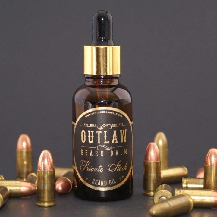 Outlaw Beard Balm Private Stock Oil